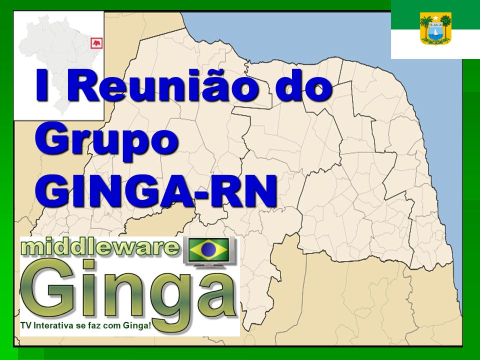 I Reunião do Grupo GINGA-RN