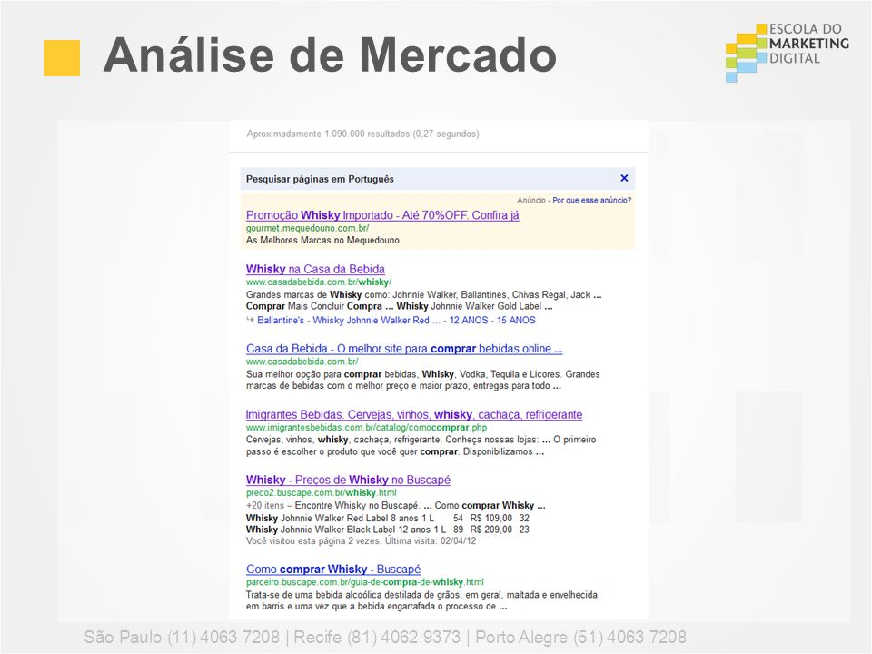 1b883b56b Marketing Digital / Planejamento para eCommerce - ppt carregar