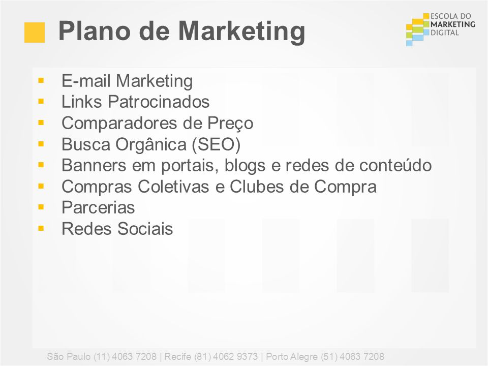 Plano de Marketing E-mail Marketing Links Patrocinados