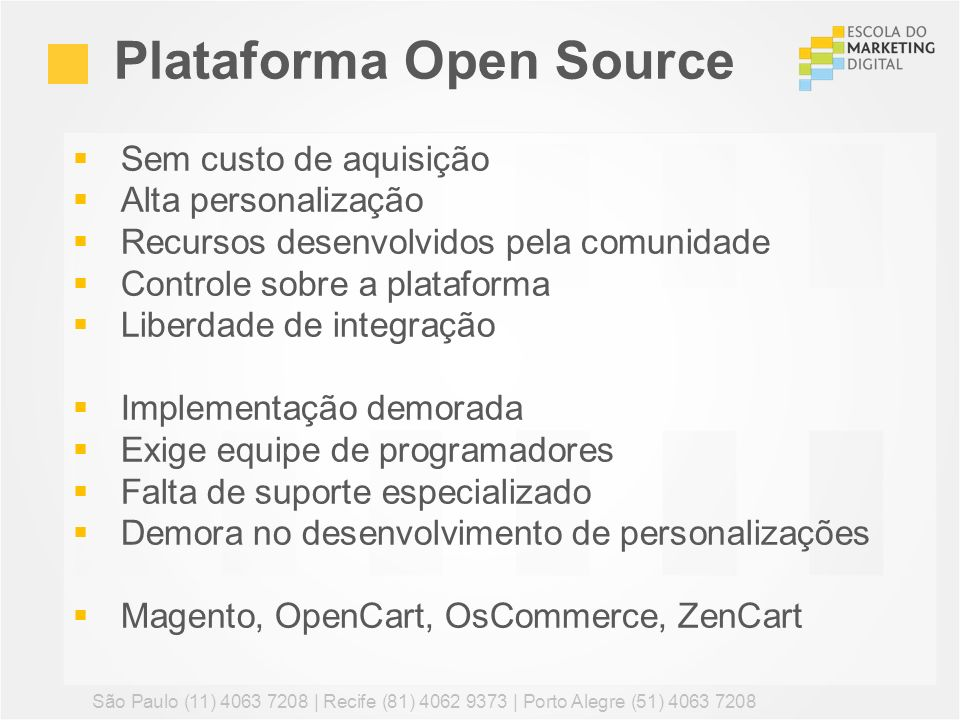 Plataforma Open Source