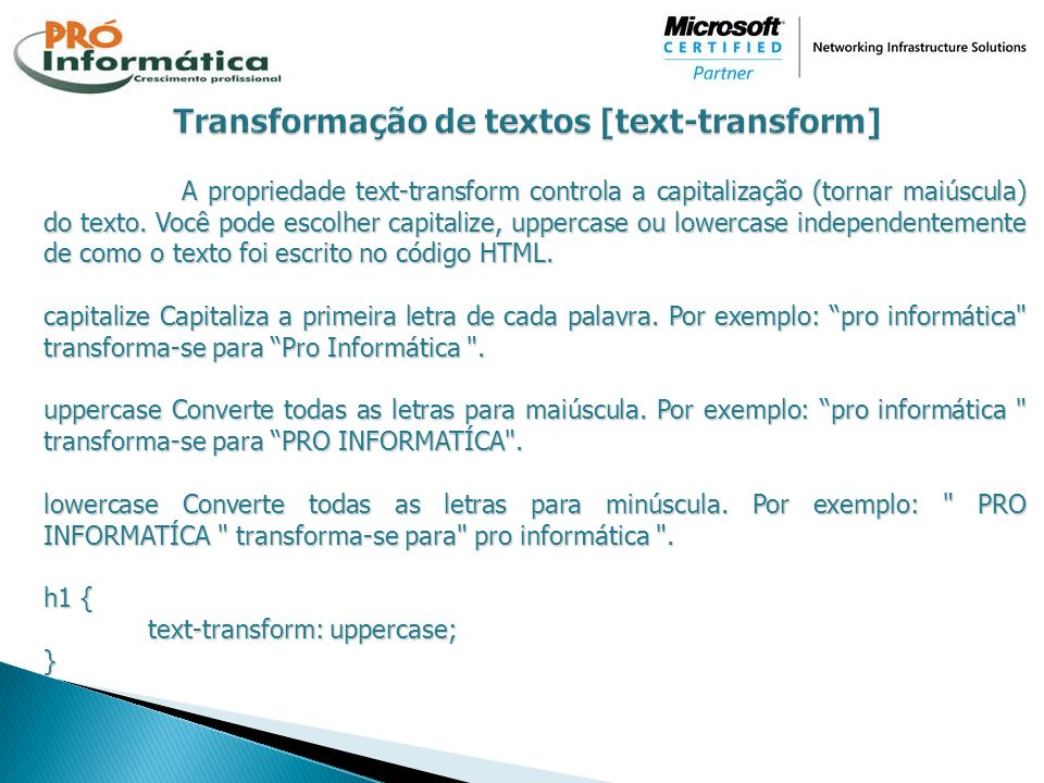 Transformação de textos [text-transform]