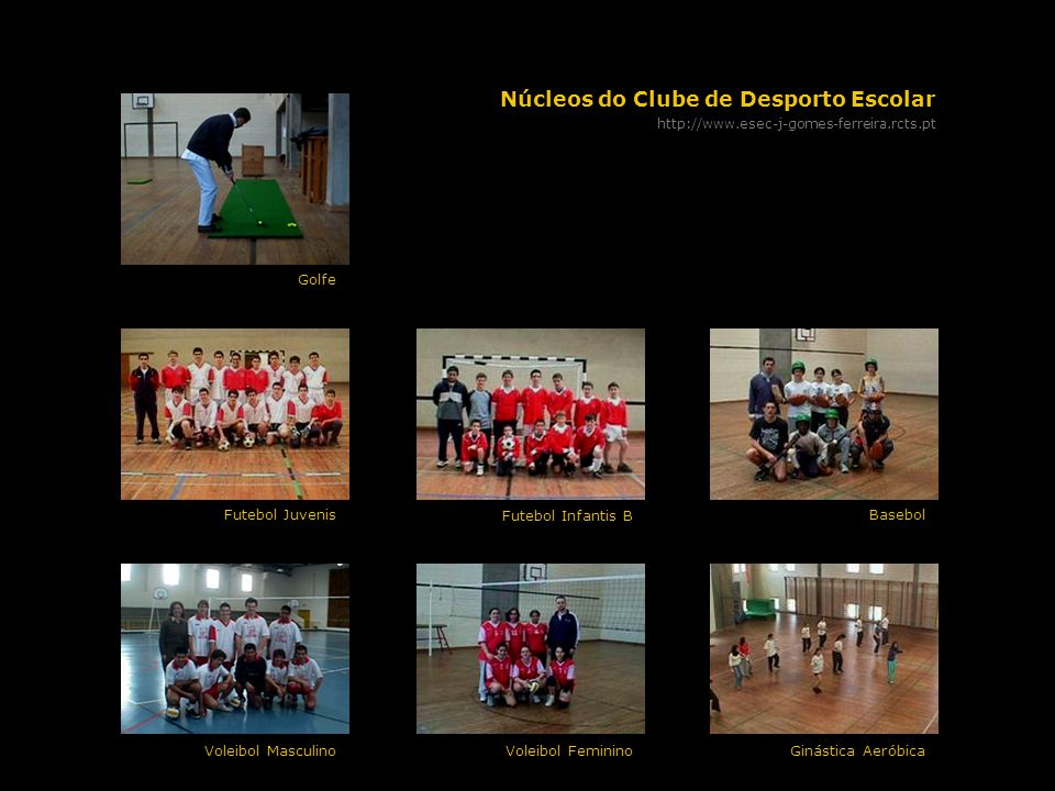 Núcleos do Clube de Desporto Escolar