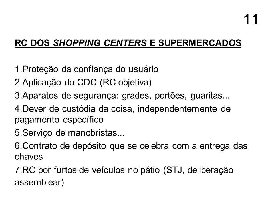 11 RC DOS SHOPPING CENTERS E SUPERMERCADOS
