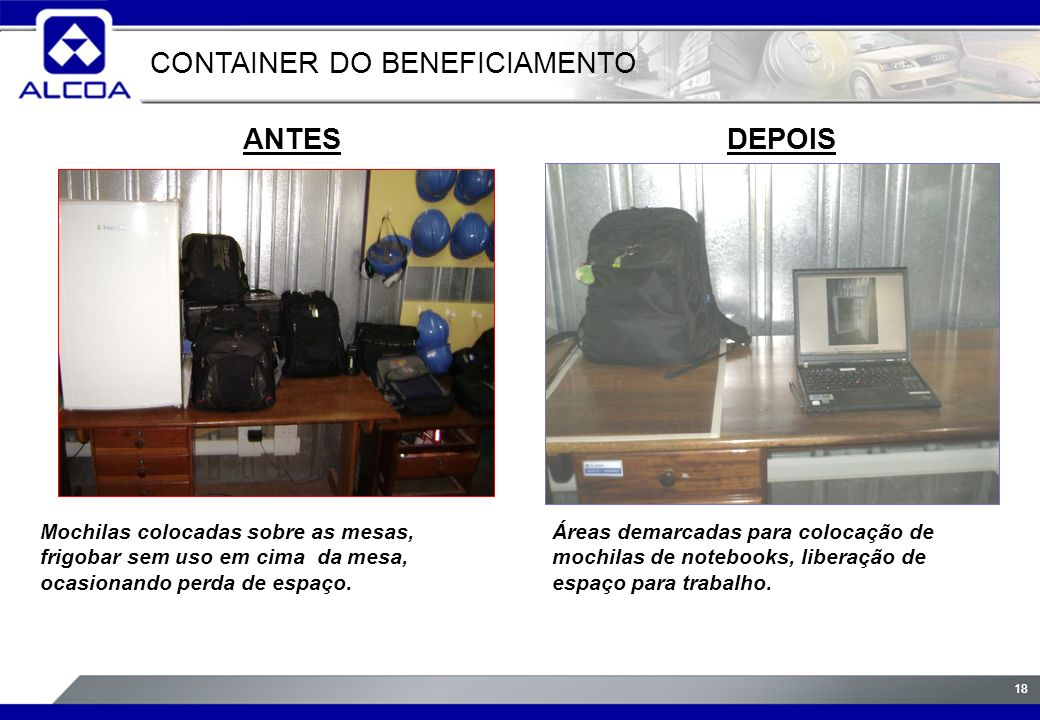 CONTAINER DO BENEFICIAMENTO