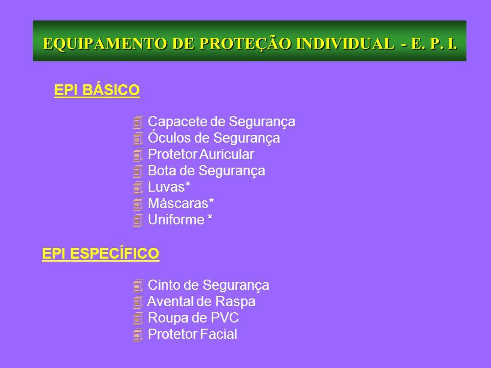 EQUIPAMENTO DE PROTEÇÃO INDIVIDUAL - E. P. I. - ppt carregar 003e523c5d