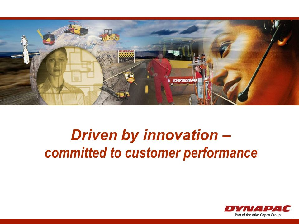 committed to customer performance