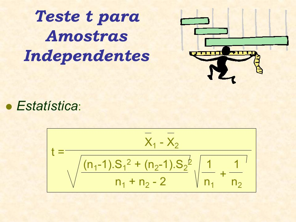 Teste t para Amostras Independentes