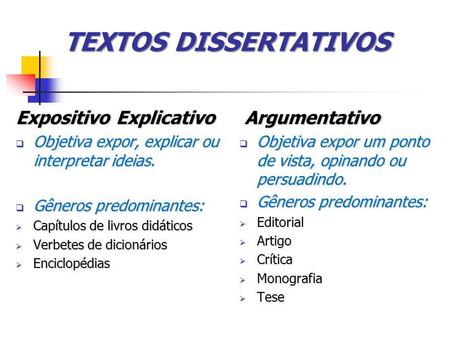O que é um texto dissertativo