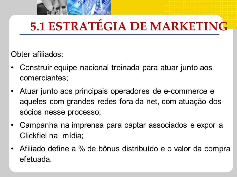 5.1 ESTRATÉGIA DE MARKETING