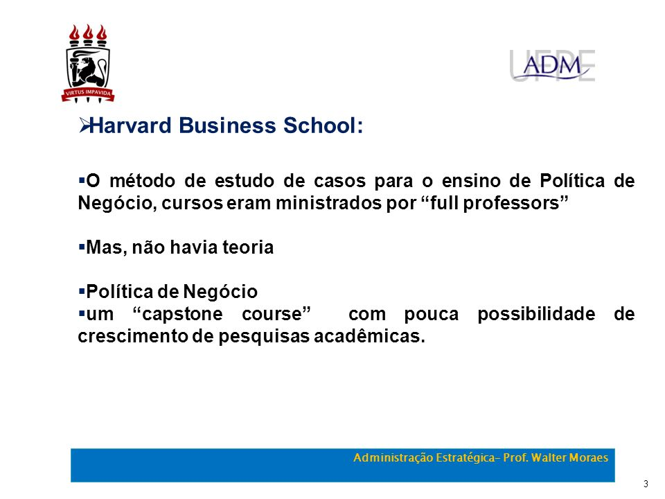 Harvard Business School:
