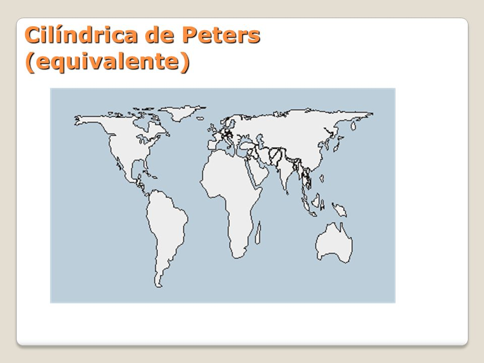 Cilíndrica de Peters (equivalente)