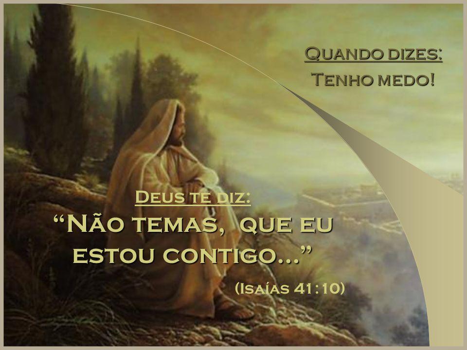 Não Posso Resolver As Coisas: Deus Disse...!!!. Deus Disse...!!! Não Posso Resolver As