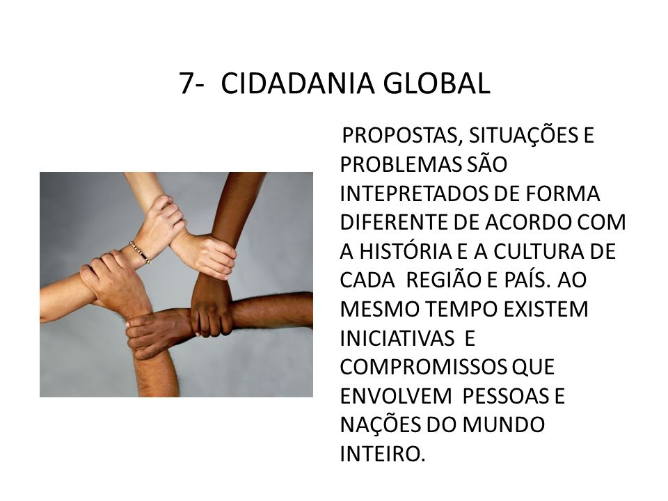7- CIDADANIA GLOBAL