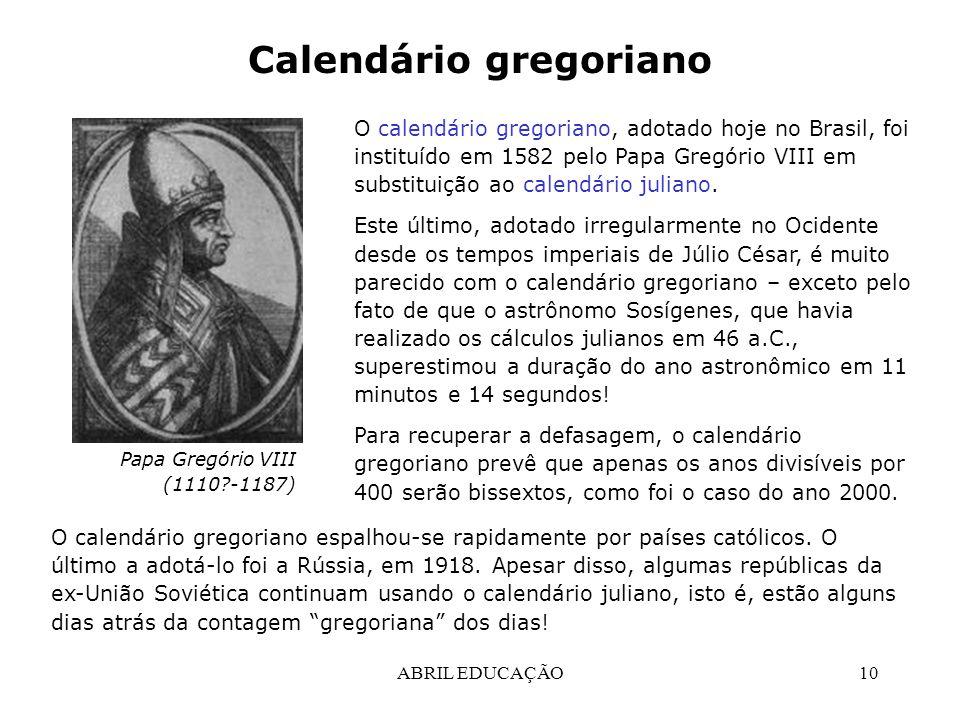 Calendario Gregoriano.Tempo Calendarios Ppt Carregar
