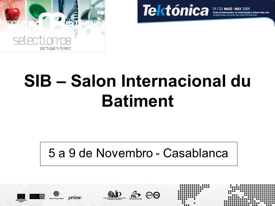 SIB – Salon Internacional du Batiment