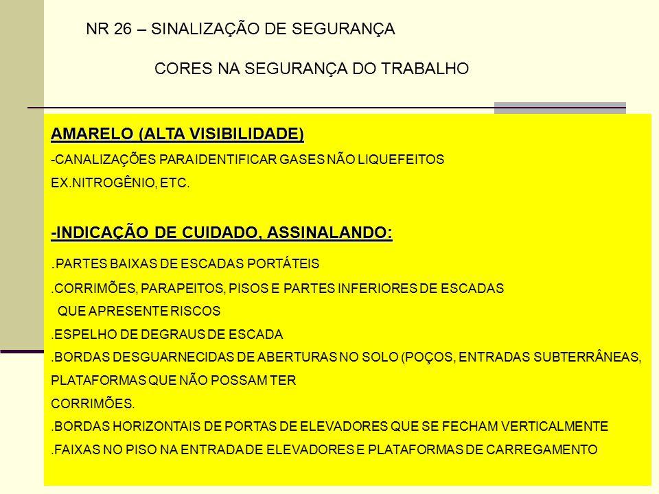 965ae1d1d3e7e NR 26 – SINALIZAÇÃO DE SEGURANÇA CORES NA SEGURANÇA DO TRABALHO