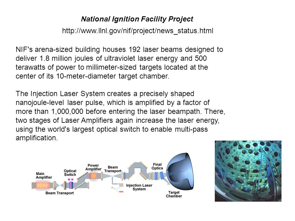 National Ignition Facility Project