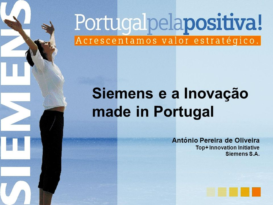 Siemens e a Inovação made in Portugal