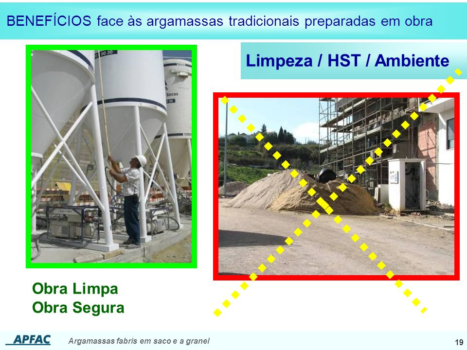 Limpeza / HST / Ambiente