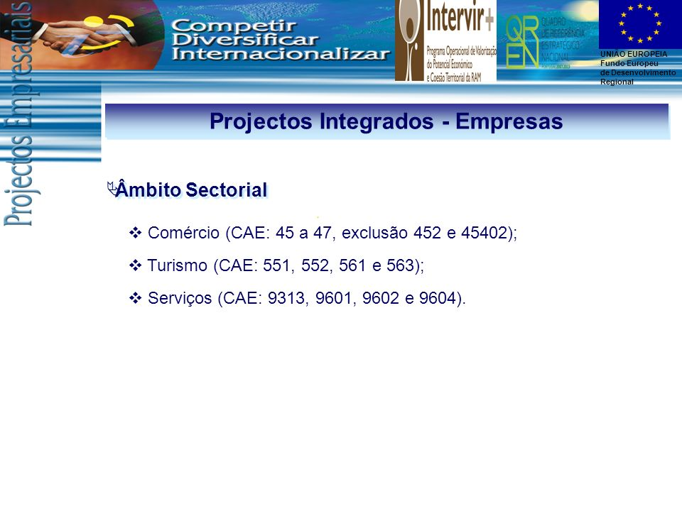Projectos Integrados - Empresas