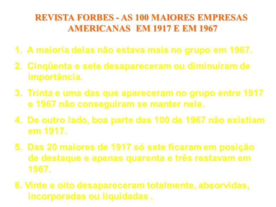REVISTA FORBES - AS 100 MAIORES EMPRESAS