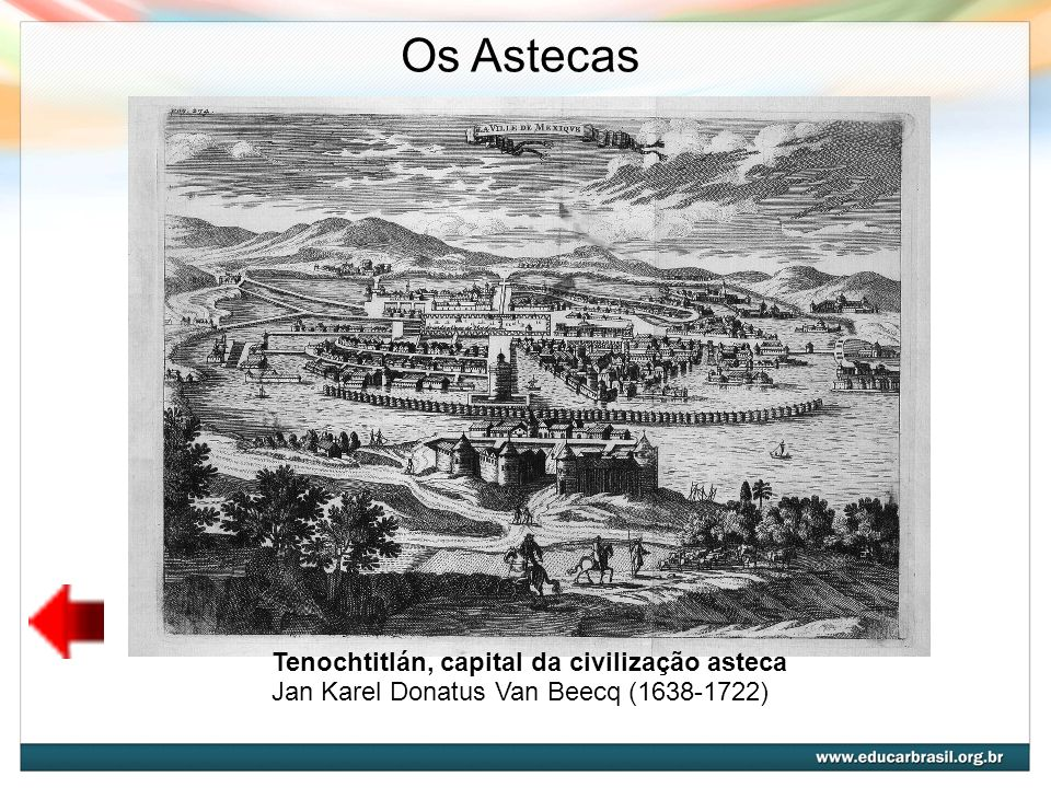 Os Astecas Tenochtitlán, capital da civilização asteca