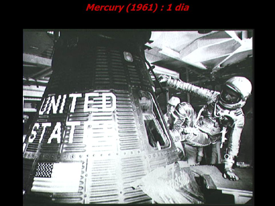 Mercury (1961) : 1 dia Cortesia NASA.
