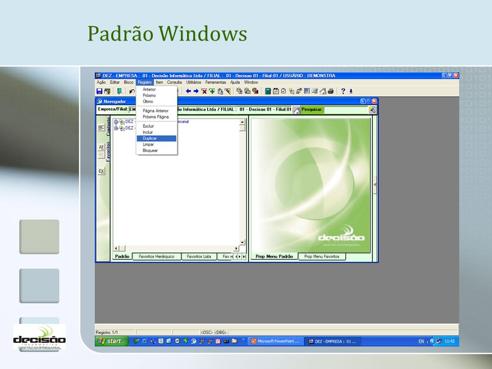 Padrão Windows