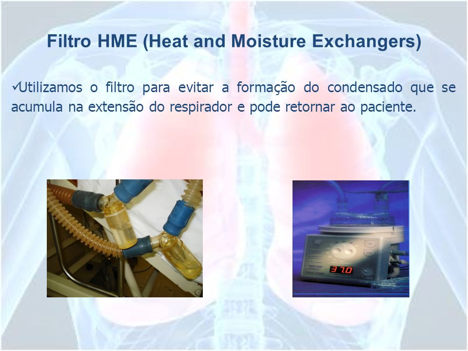 Filtro HME (Heat and Moisture Exchangers)