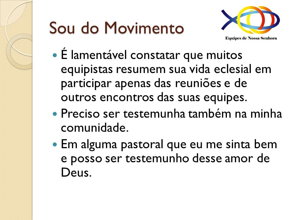 Sou do Movimento
