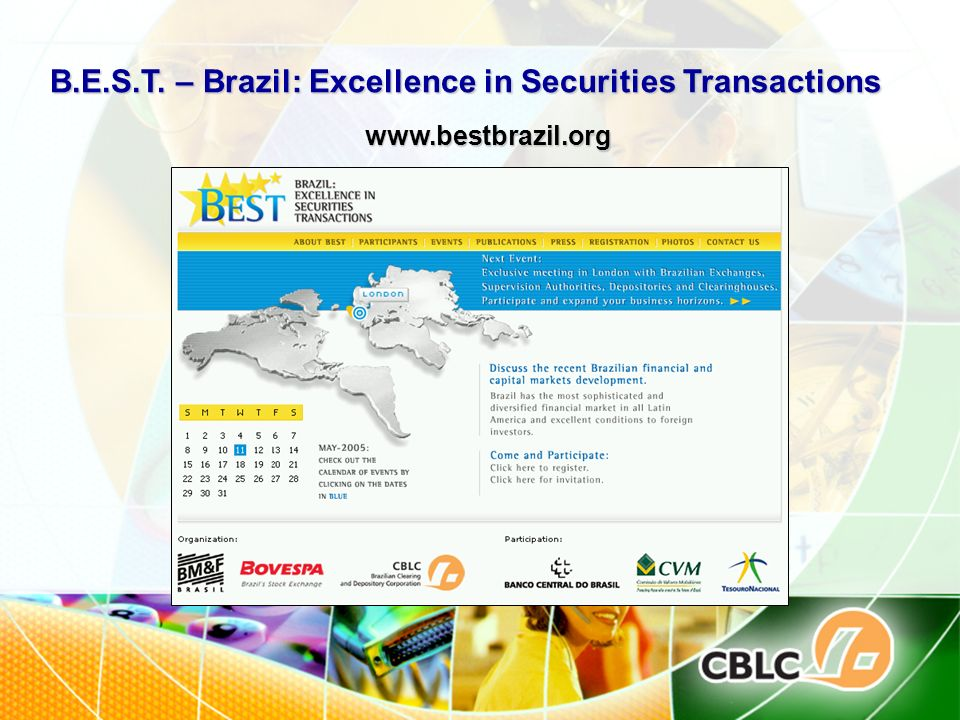 B.E.S.T. – Brazil: Excellence in Securities Transactions