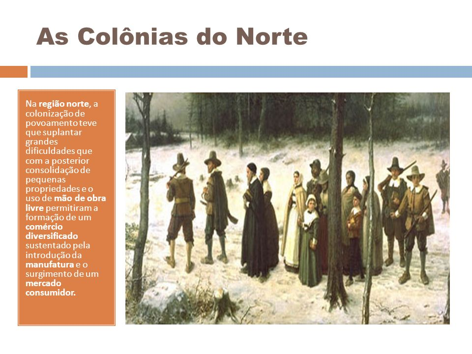 As Colônias do Norte