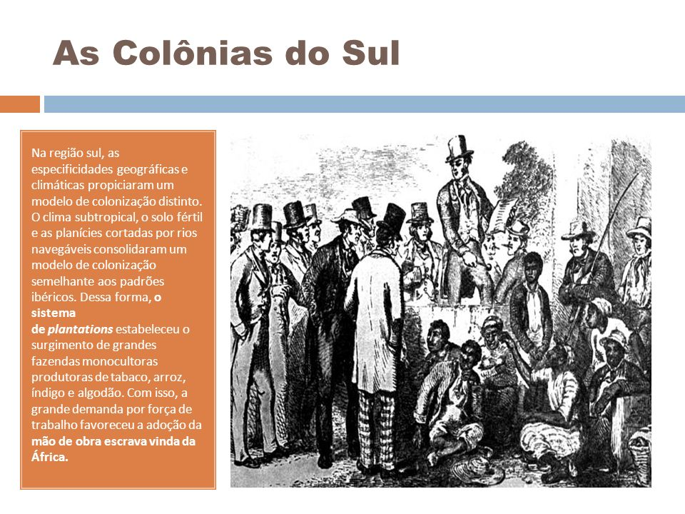 As Colônias do Sul