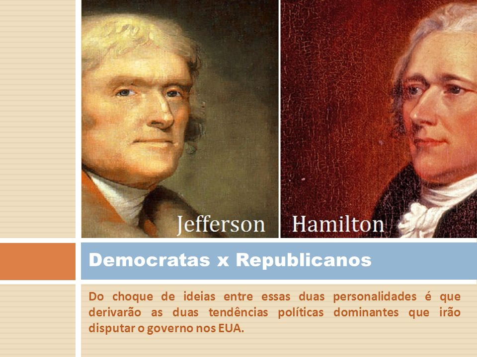 Democratas x Republicanos