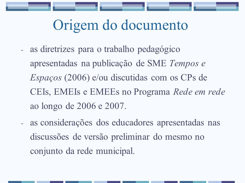 Origem do documento