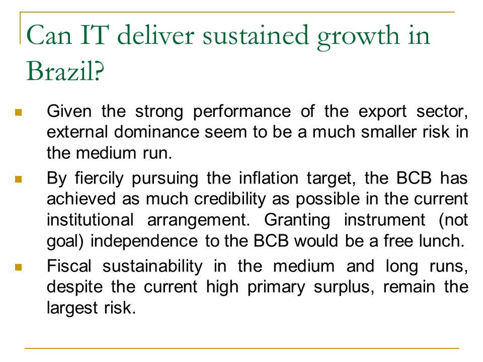 Can IT deliver sustained growth in Brazil