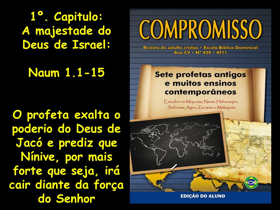 A majestade do Deus de Israel: