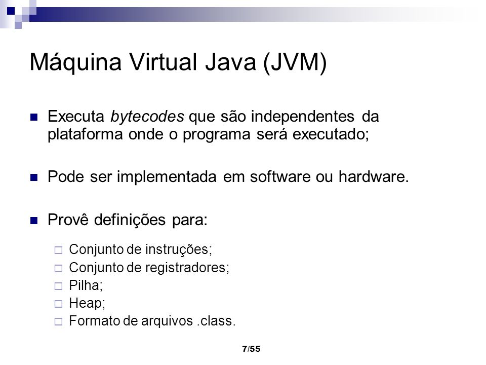 Máquina Virtual Java (JVM)