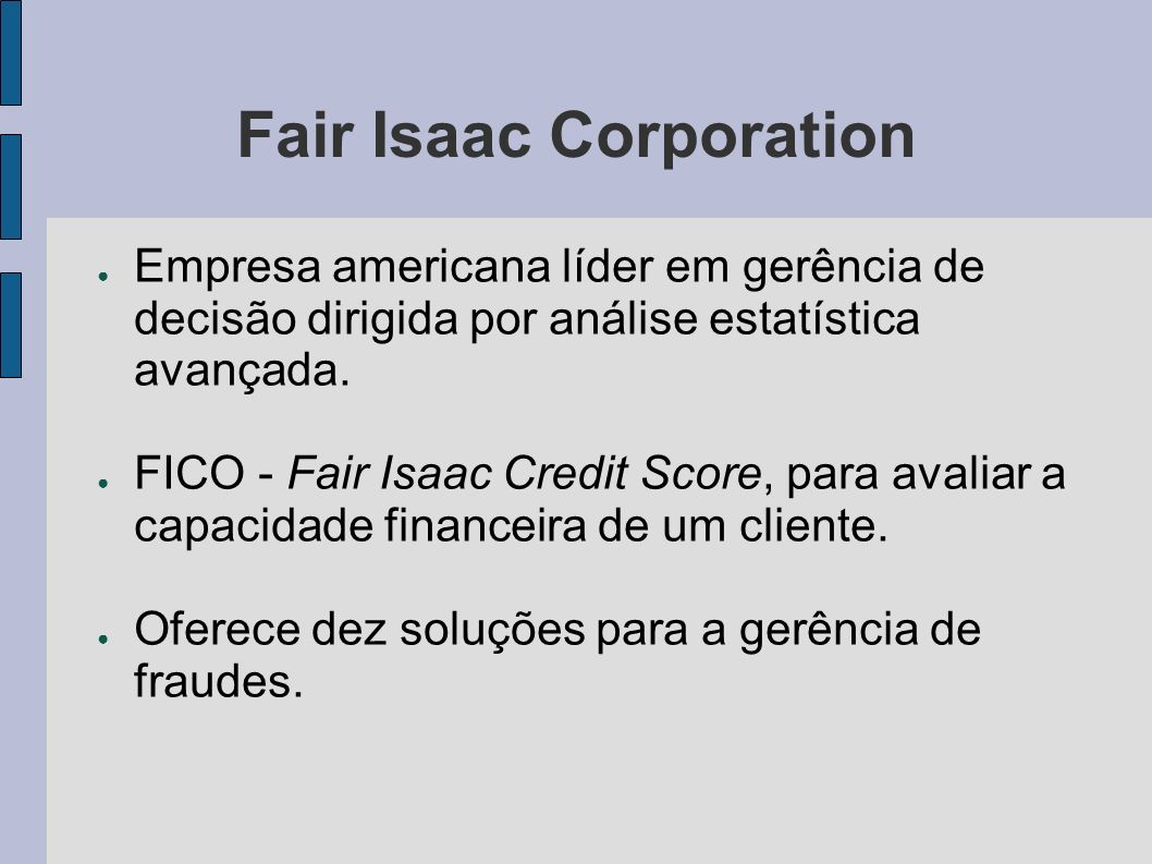 Fair Isaac Corporation