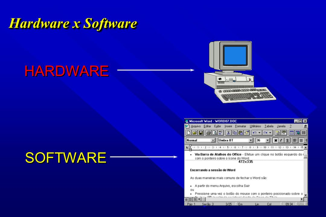 Hardware x Software HARDWARE SOFTWARE 40