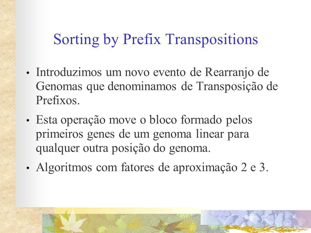Sorting by Prefix Transpositions
