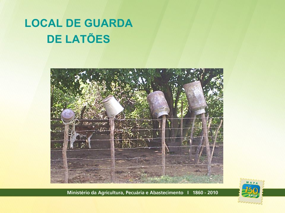 LOCAL DE GUARDA DE LATÕES