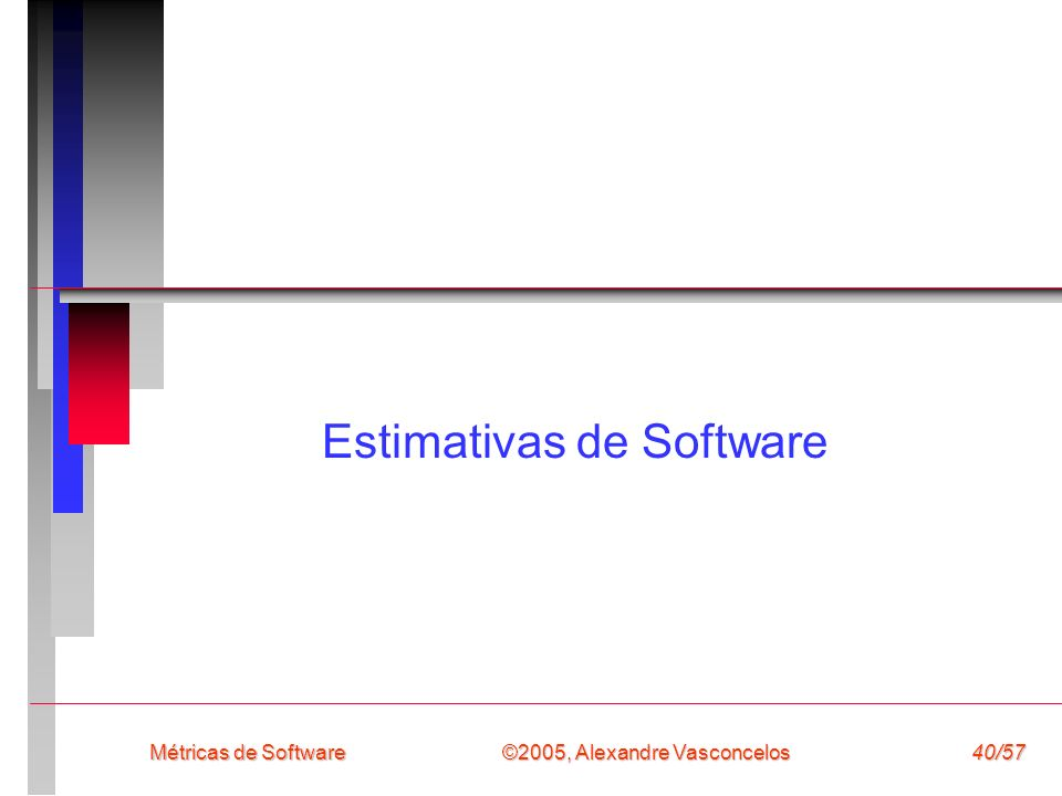 Estimativas de Software