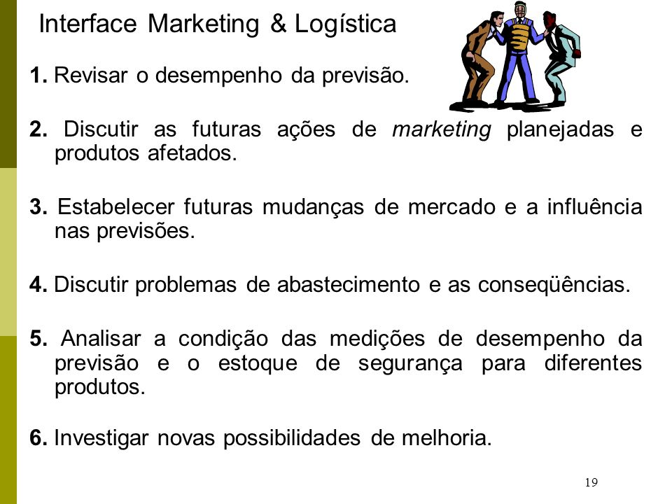 Interface Marketing & Logística