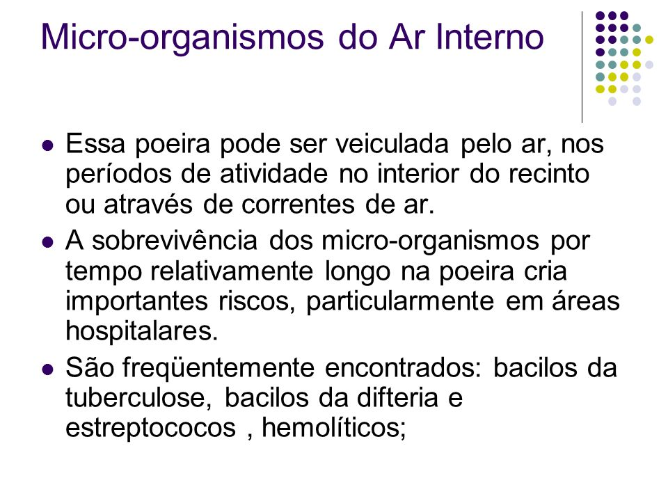 Micro-organismos do Ar Interno
