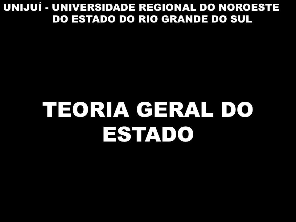 UNIJUÍ - UNIVERSIDADE REGIONAL DO NOROESTE