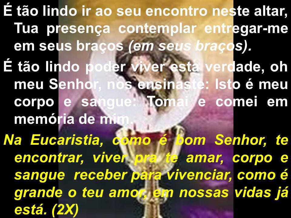 BEM-VINDOS À FESTA DA PRIMEIRA EUCARISTIA!