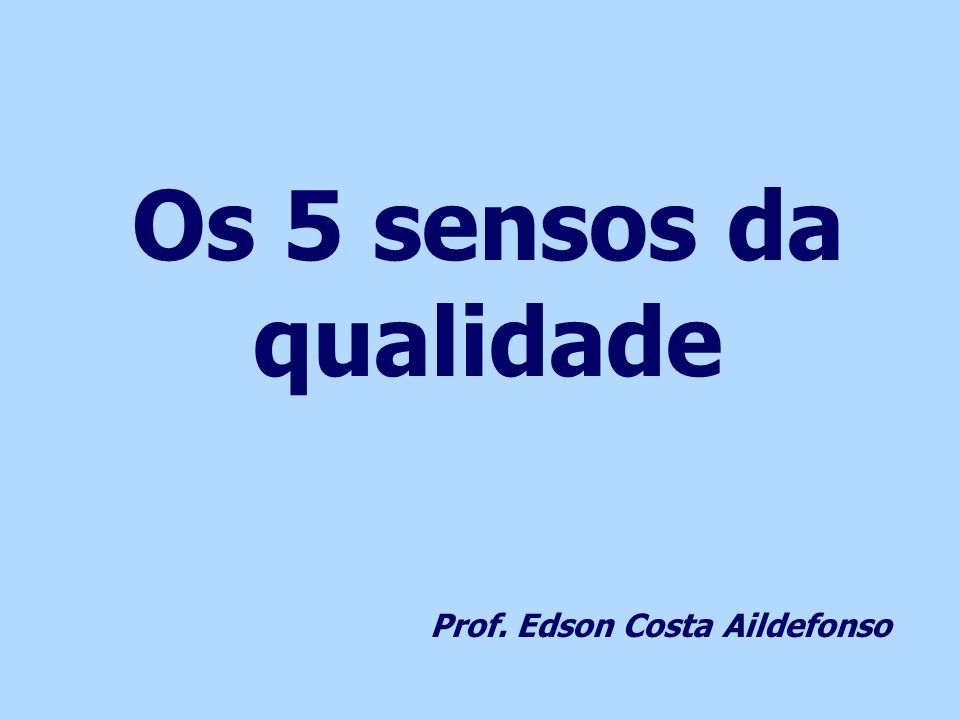 Prof. Edson Costa Aildefonso