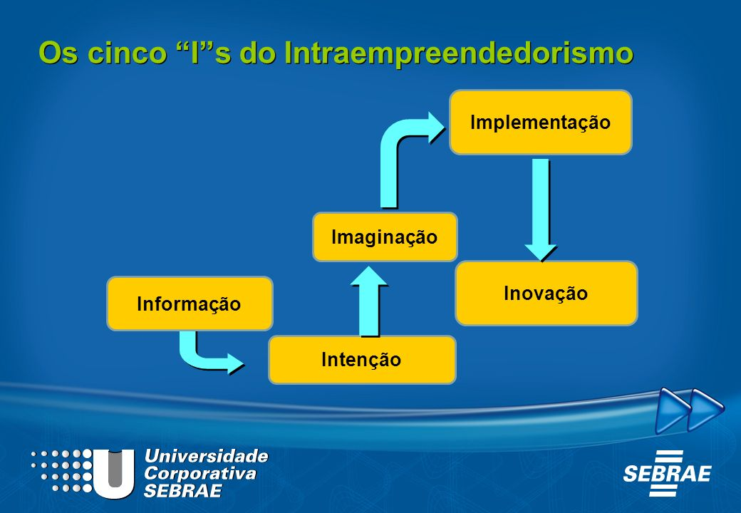 Os cinco I s do Intraempreendedorismo