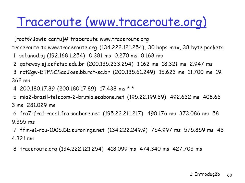 Traceroute (